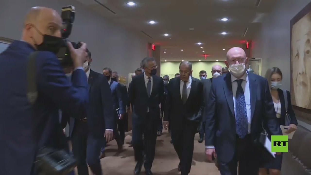 وزير خارجية روسيا لافروف يلتقي الأمين العام لحلف الناتو ستولتنبرغ في نيويورك  - نشر قبل 5 ساعة