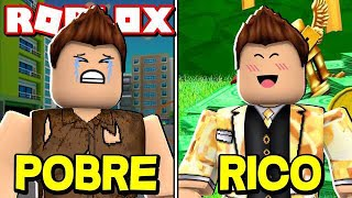 The STORY of the BEGGAR WHO BECAME RICH in ROBLOX