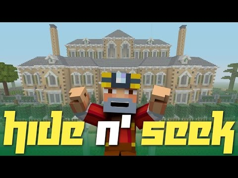 Minecraft Xbox One: Hide N' Seek in Ohara Castle! (Steampunk Mansion)