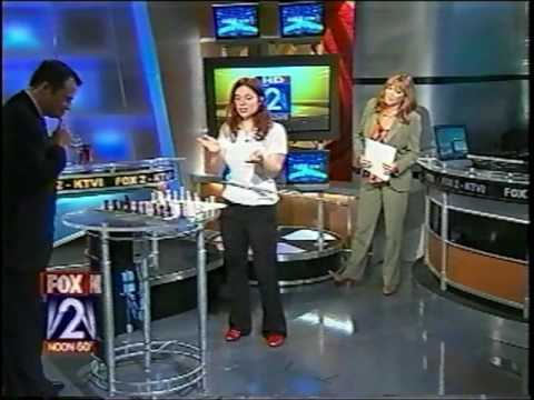 Hula Chess on TV
