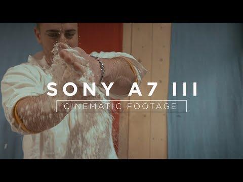 SONY A7III Cinematic LOW LIGHT Test Footage at Fun Fair Hamburg, Germany (Hamburger Dom)