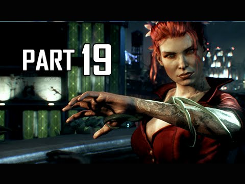 Batman Arkham Knight Walkthrough Part 19 -  Poison Ivy (Let's Play Gameplay Commentary)
