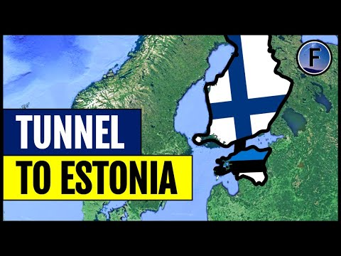 Finland's Plans for a Tunnel to Estonia