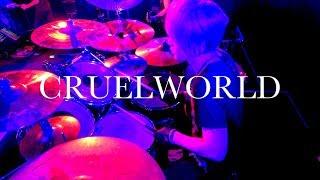 「CRUELWORLD」ドラム定点カメラ