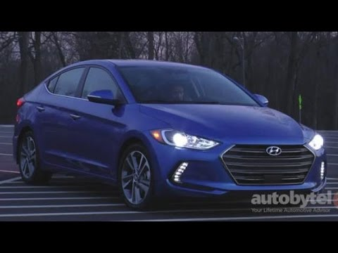 2017 Hyundai Elantra Limited Test Drive Video Review