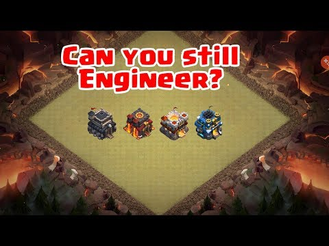 Clash Of Clans- Can You Still Engineer?