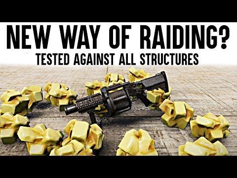 Rust Multiple Grenade Launcher - New Rust Raiding Tool