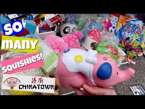 SQUISHIES IN CHINATOWN! SQUISHY HUNTING VLOG