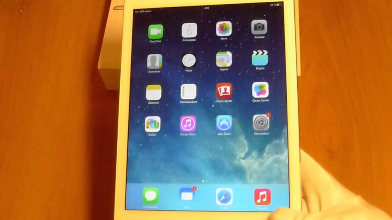 Apple iPad Air 2 Wi-Fi - tablet - 16 GB - 9.7 - YouTube