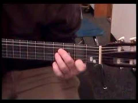 How To Play The B Major Chord On The Guitar Youtube