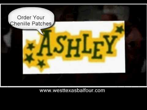 west texas balfour letter jackets and chenille patches