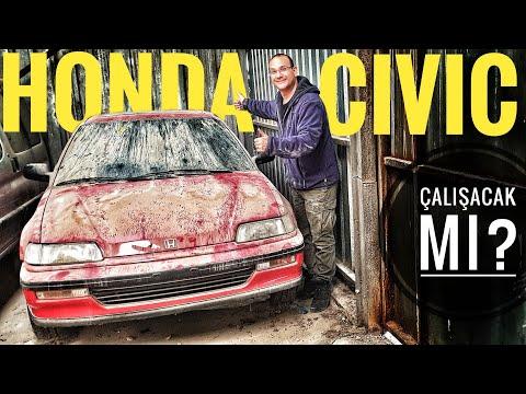 İşte beklenen araç | Honda Civic EF | Tozlu Garaj