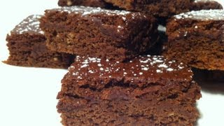 How To Make Chocolate Brownies: Low Calorie / Low Fat