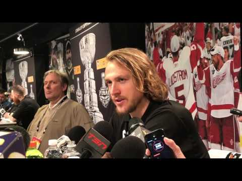 Hagelin talks Stanley Cup Final