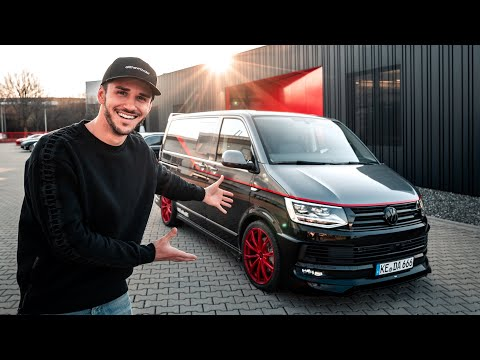 VW T6 A-Team Bus   The whole TUNING PROCESS!   Daniel Abt