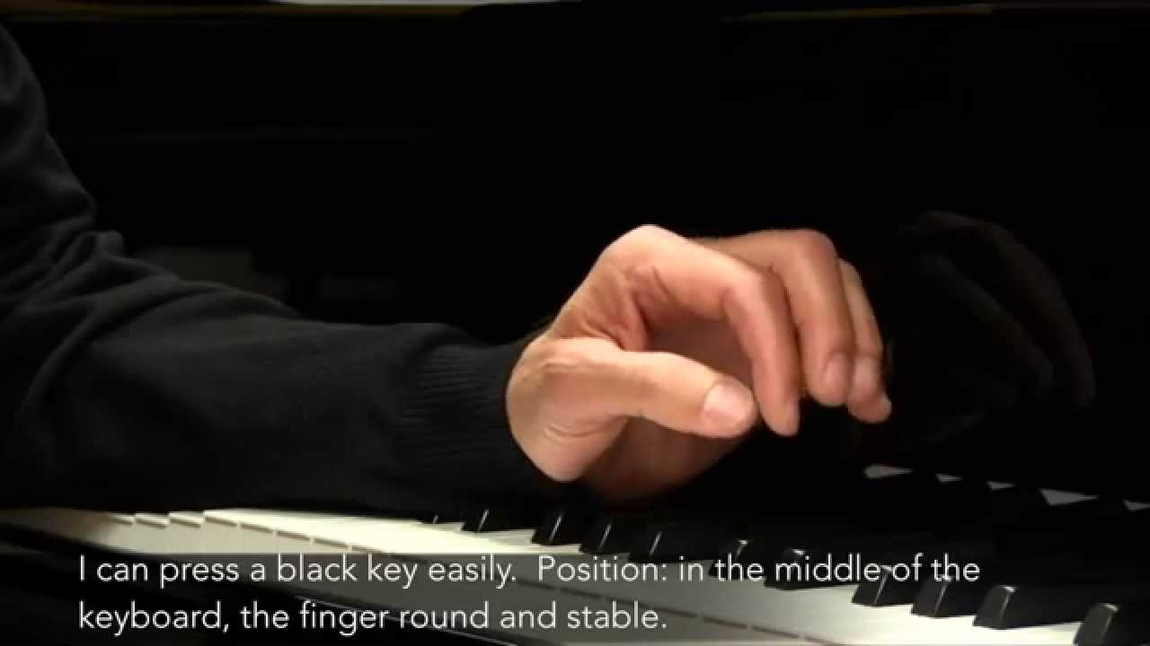 Piano Masterclass | Weight transfer