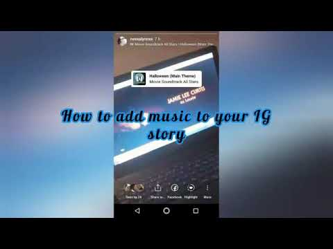 TUTORIAL: ADD MUSIC TO IG STORY