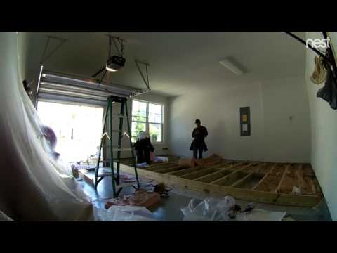 Home Improvement - converting garage to room