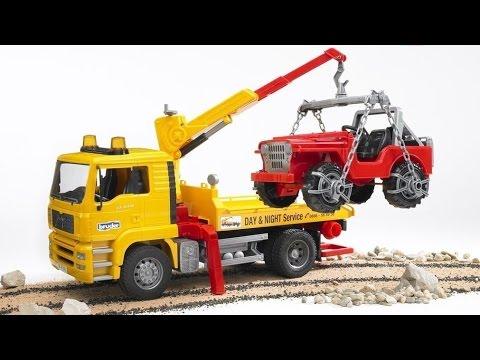 VÍDEO para NIÑOS 1Hora. GRÚAS Camión GRÚA. Construction Toys Machines in action!. Crane & Excavator