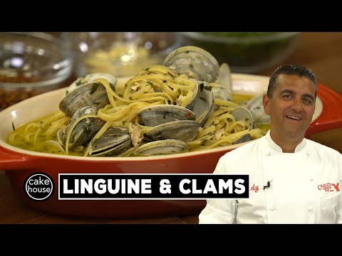 Homemade Linguine & Clams by The Cake Boss | BVK EP06