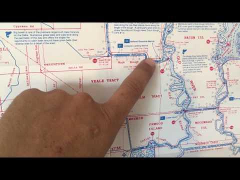 Premiere CA Delta Fishing Locations