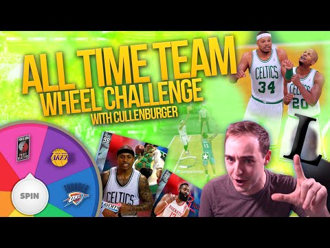 NBA 2K16 My Team ALL TIME WHEEL CHALLENGE VS CULLENBURGER!