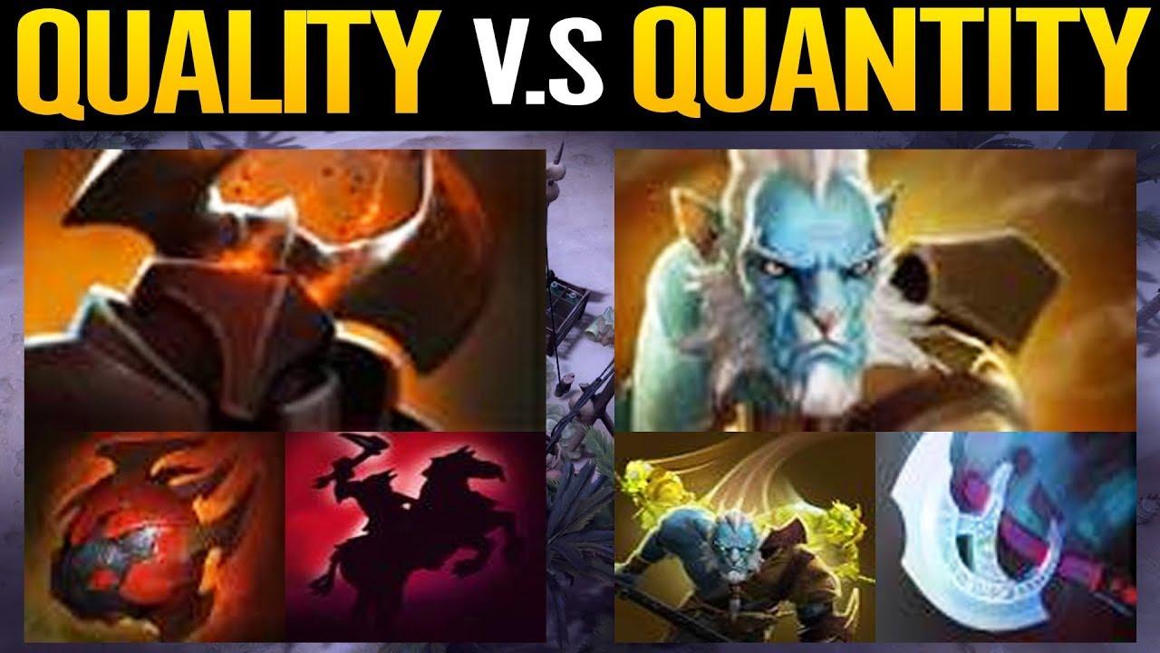 QUALITY VS QUANTITY illusions War - Chaos Knight VS Phantom Lancer Dota 2 thumbnail