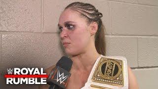 "Ronda Rousey doesn't like Sasha Banks saying ""Four Horsewomen"": WWE Exclusive, Jan. 27, 2019"