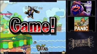 Out of the Blastzone #7: Jeo (Fox) vs JEstr (Donkey Kong)