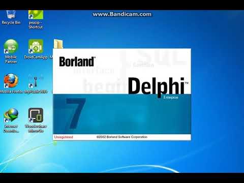 Cara Membuat MP3 Dengan Borland Delphi 7 Enterprise Edition.
