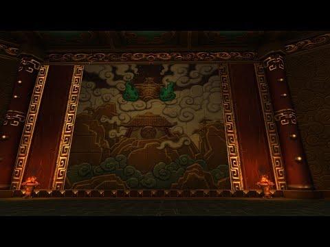 "World Of Warcraft ~ Lucid Nightmare maze, ""Endless Halls"". Last building"