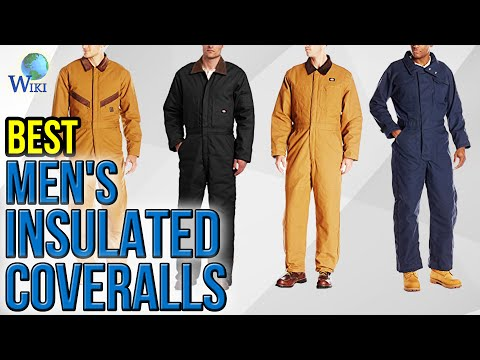 10 Best Men's Insulated Coveralls 2017