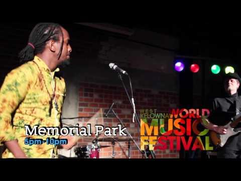 West Kelowna World Music Festival Aug 23rd