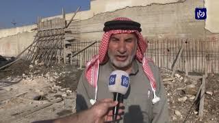 إصابة وافد بانهيار جديد لسور مدرسة كفر راكب - (8/3/2020)