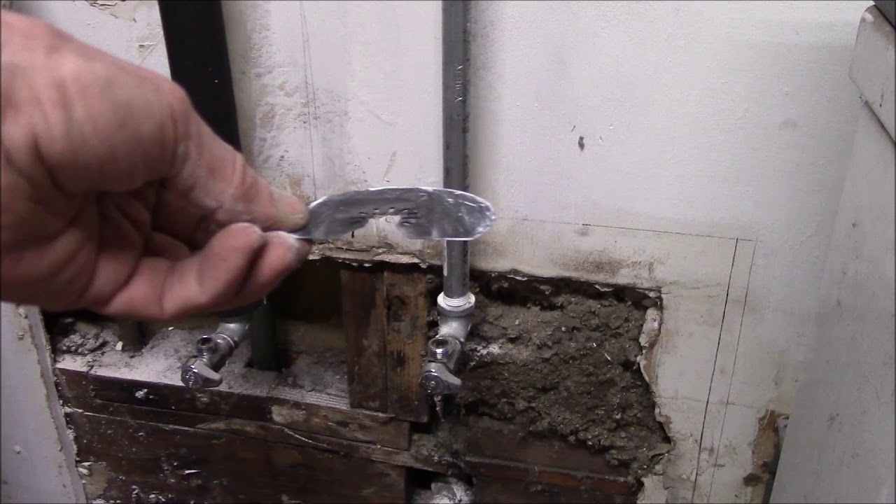 Installing A Utility Sink In The Garage, Part 1