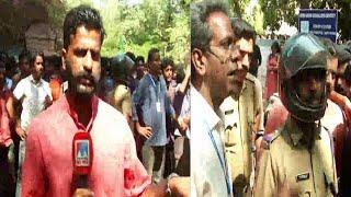 സിഎംഎസ് കോളജില് എസ്എഫ്ഐക്കെതിരെ വിദ്യാര്ഥിസമരം  | Kottayam| CMS college |Protest