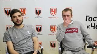 Георгий Джикия сыграл в FIFA 18 с читателем