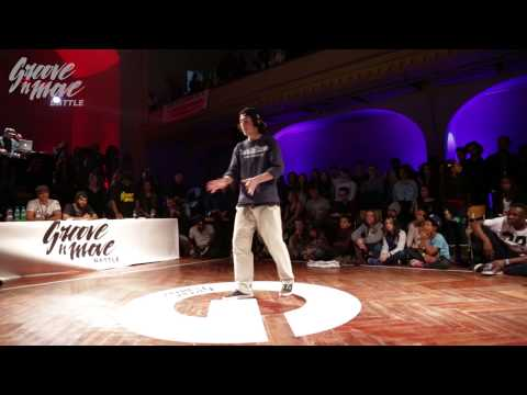 GROOVE'N'MOVE BATTLE 2015 - Popping round of sixteen / Yassine vs Sany-G