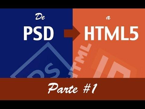 De PSD A HTML5 Parte 1
