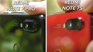 Redmi Note 7 Pro vs Redmi Note 7S camera comparison! Which one is the best?