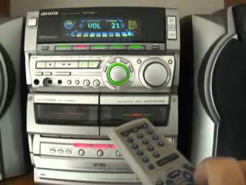 aiwa nsx s888 triple cd doble 92 youtube rh youtube com aiwa nsx 3200 user manual Aiwa Stereo System CD Player