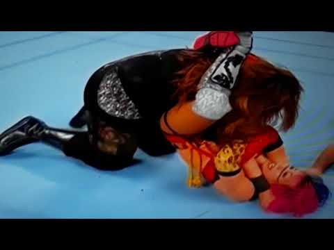 She Rubs Her Pussy While On Wrestling