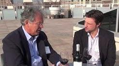 Chris Riccobono from  pardonthatvine.com interviews and tastes La fleur de gay with Alain Raynaud
