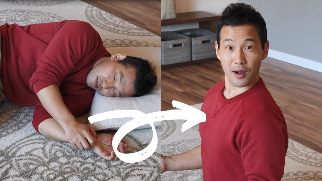 Download Hunchback Posture Correction While SLEEPING!?