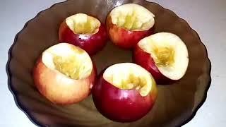 Запеченые яблоки с медом 🍯 . Вкусный десерт!