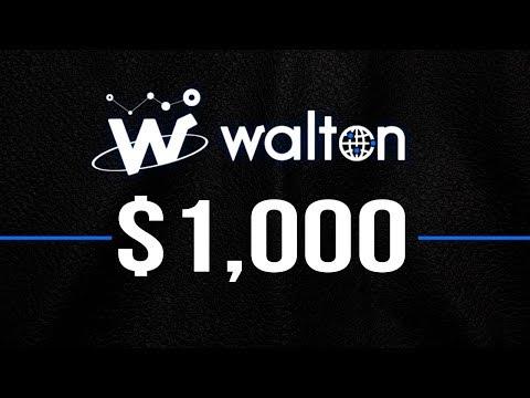 Will Walton (WTC) Coin Hit $1,000 in 2018?
