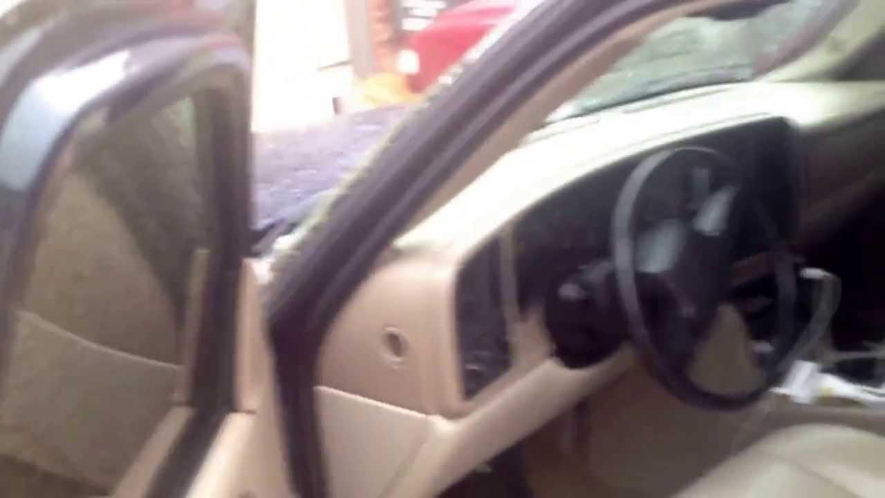 How to open car door frozen shut