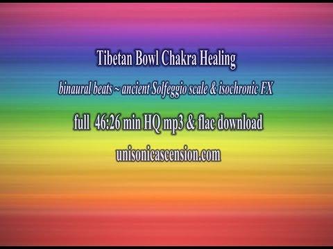 Solfeggio Tibetan Bowl Chakra Healing & Theta Binaural Beats