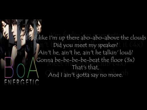BoAEnergetic With Lyrics