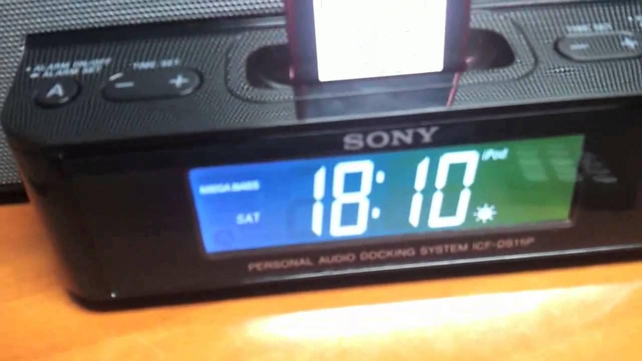 Sony Icf Ds15ip инструкция